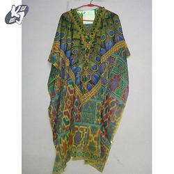 Printed Beach Kaftan