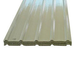 White Aeron FRP Roofing Sheet, Shape: Rectangular, Thickness: 1mm