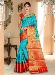 Casual Wear Banarasi Silk