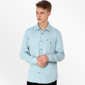 Blue Dotted Full Sleeve Shirts