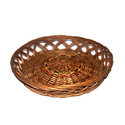 Brown Round Willow Jali Basket, For Party Supplies