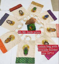 Cotton  Thamboolam Bag