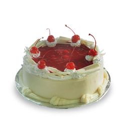 Bread World White Forest Exclusive Cake 1kg
