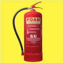 Refilling of AFFF Foam Type Fire Extinguisher