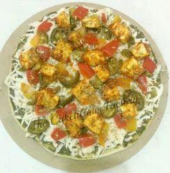 Basanti Paneer Salsa Pizza