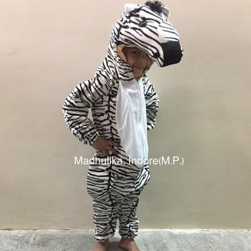 Girls , Boys Zebra Animal Costume