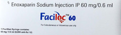 Faciloc Enoxaparin Sodium Injection IP