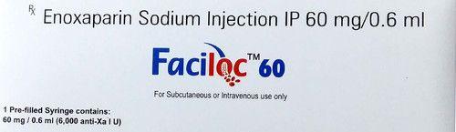 Faciloc-60 Enoxaparin Injection 60 mg/0.6 ml