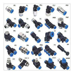 Pneumatic Fittings with Codes