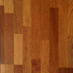 Brown Commercial Building Laminated Wooden Flooring Service, for Indoor