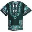 Cotton Unisex African Dress Dashiki T Shirt