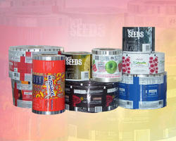 Plastic Printed Laminated Rolls, Packaging Type: Roll