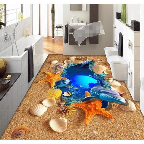 3d Tiles 3d Ocean Floor Tile Manufacturer From New Delhi