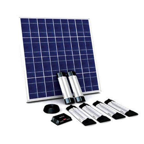 Solar Led Home Lighting System Renewable Energy