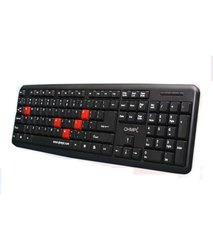 With Wire 104 Quantum USB Keyboard, Size: Regular