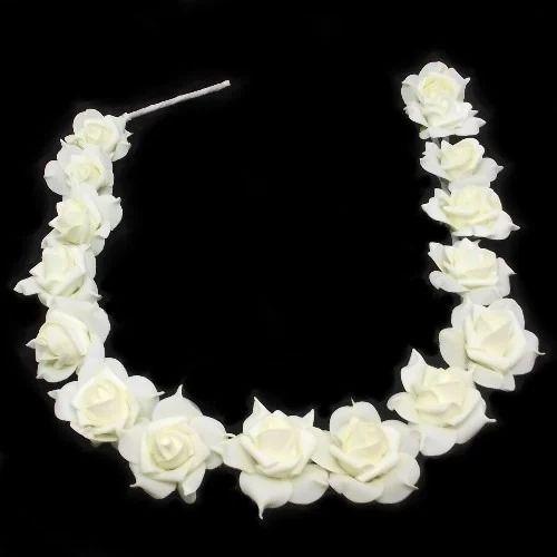 White rose garland at rs 200 piece flower garland id 14628142348 white rose garland mightylinksfo