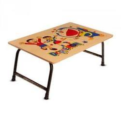 Wooden Folding Study Table with Stickers