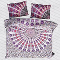 Indian Consigners Cotton Printed Double Bedsheet, For Home, Hotels