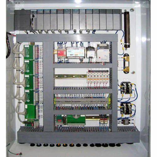 single phase control panel board electronic panel board anam rh indiamart com panel board wiring panel board wiring diagram pdf