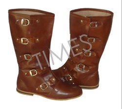 Times Creation Antique Medieval Boot Brown, Model Number: TCIL-2314DB