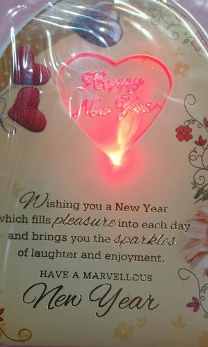 Love Greeting Card Happy New Year Wishes Fire Valentine All About Love