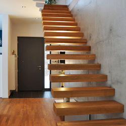 Floating, Hanging, Cantilever Staircase