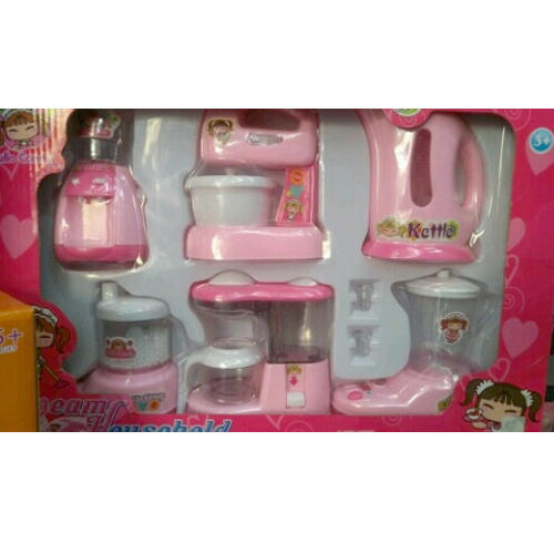 Fire Bird And Pink Kitchen Set Toys Rs 550 Piece Big Tree Id