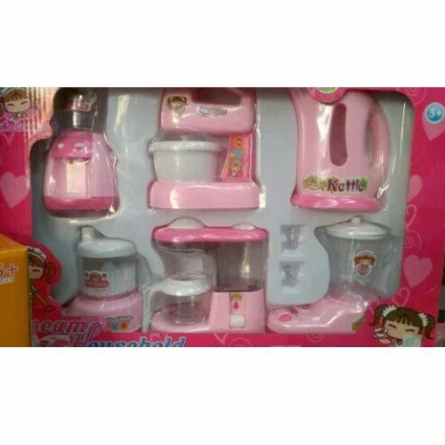 Kitchen Set Toys Online India: Fire Bird And Pink Kitchen Set Toys, Rs 550 /piece, Big