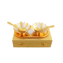 Executive Gifts Silver & Gold Plated Bowl