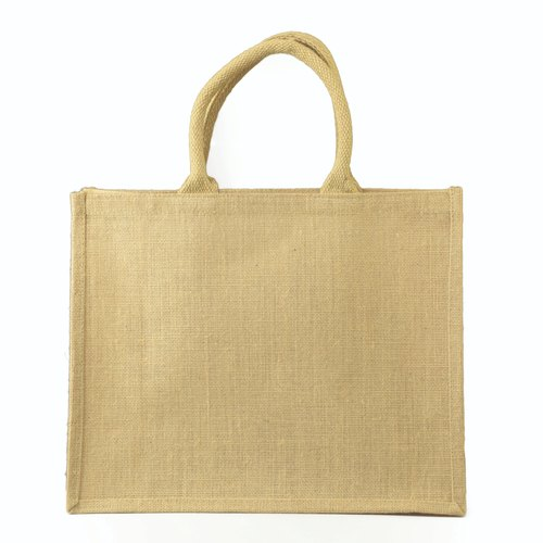 Brown Plain Promotional Jute Bag, Capacity: 4 Kg