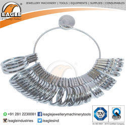 Half Round Wide Finger Gauges (U.S. Standards) Jewelry Tools