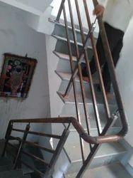 Circular And Spiral Metal Stair