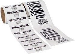 Synthetic Non Tearable Paper For Barcode Labels