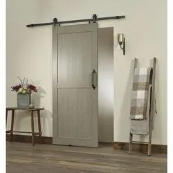 Sliding Polished 115x37 mm PVC Hollow Door, For Home, Interior