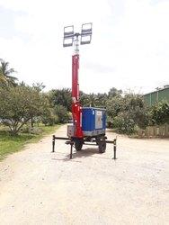 Mobile Light Tower Generators