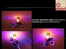metal Kids Lamp Bike