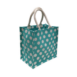 Dot Jute Bags For Temple Purpose