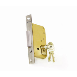 Apar Stainless Steel Door Deadlock, Polished