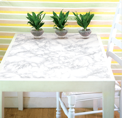 White PVC Marble Sheets(Used For Walls & Furniture Also)