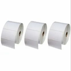 Chromo Plain Barcode Labels, For Industrial, Packaging Type: Roll