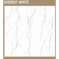 Sonfi Ceramic White Vitrified Floor Tiles, Thickness: 5-10 mm, Size: 600 x 600 mm