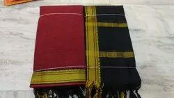 Handloom South Cotton Mangalgiri Dress Material
