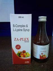 B-COMPLEX & L-LYSINE SYRUP 200 ML