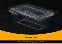 Blister Rectangular Packaging Box With Lid