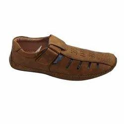 Men Designer PU Leather Sandals
