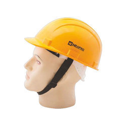 Safety Helmet with Pin Lock type attachment