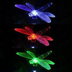 Hardoll Solar Garden Color Changing Bird Light