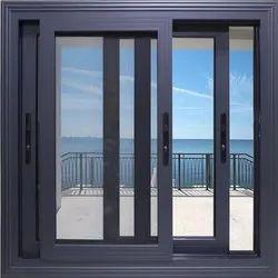 Upvc Gray Sliding Window