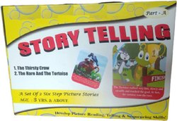 English Story Telling Step-by-Step for Kids Part A