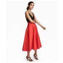 Ledies Red Skirts